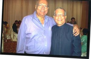 Navin Banker with Arvind Thekadi